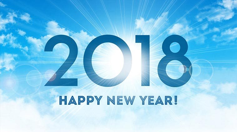 Happy New Year 2018: Greetings, Wishes, Cards, Images, Messages, Photos,  SMSs WhatsApp And Facebook Status Quotes | The Indian Express