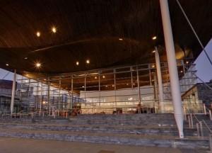 Welsh Senned building