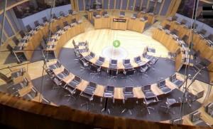 Welsh Senned building (internal)