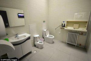 Chinese Toilets - Interior